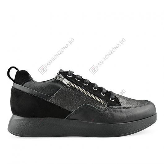 Черни дамски ежедневни обувки Baez