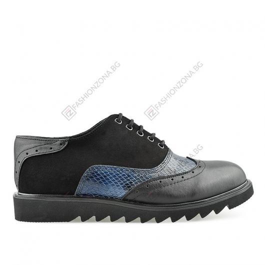 Черни дамски ежедневни обувки Gabella