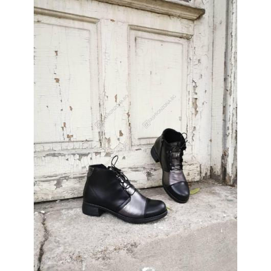 Черни дамски ежедневни боти Magdalone