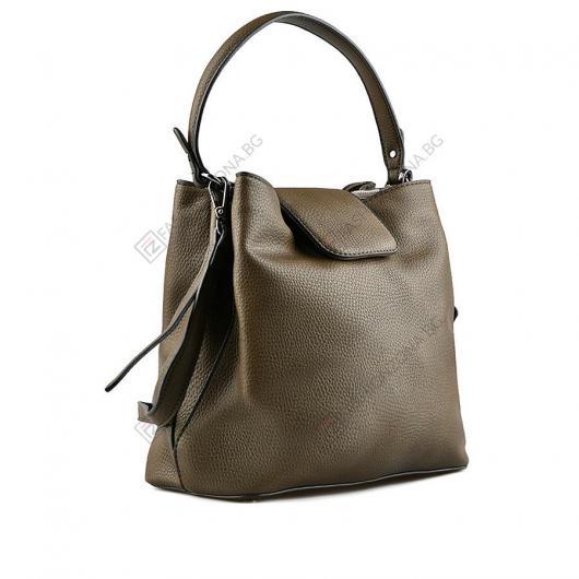 Зелена дамска ежедневна чанта Anandi