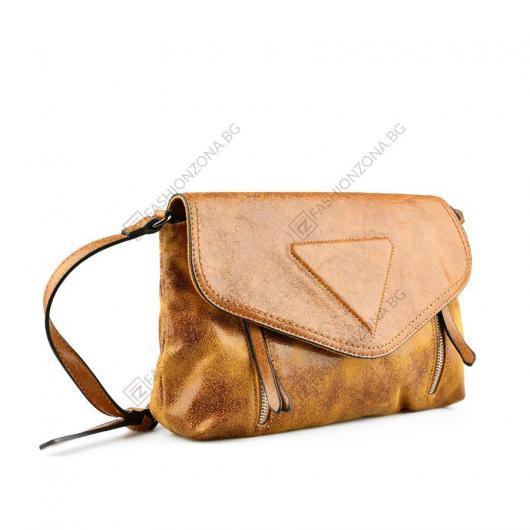 Жълта дамска ежедневна чанта Aldabella