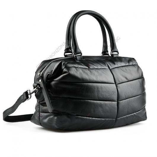 Черна дамска ежедневна чанта Guang