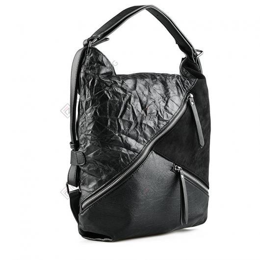 Черна дамска ежедневна чанта Cordelia