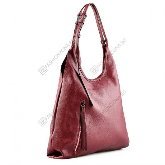 Червена дамска ежедневна чанта Alanis