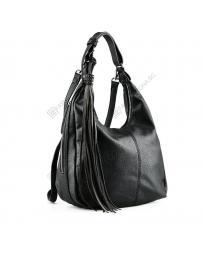 Черна дамска ежедневна чанта Branca