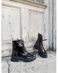 Черни дамски ежедневни боти Carita в online магазин Fashionzona