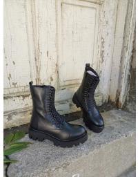Черни дамски ежедневни боти Inger в online магазин Fashionzona