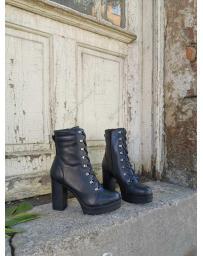 Черни дамски ежедневни боти Eimhir в online магазин Fashionzona