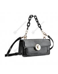 Черна дамска ежедневна чанта Furaha
