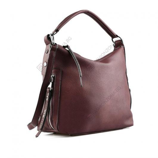 Червена дамска ежедневна чанта Athol