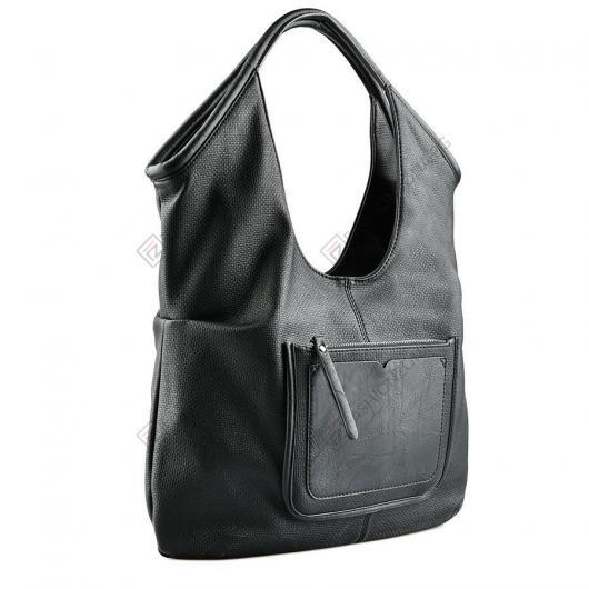 Черна дамска ежедневна чанта Alessa
