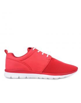 Червени мъжки ежедневни обувки 0127587 в online магазин Fashionzona
