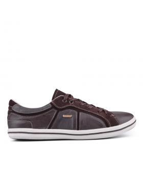 Кафяви мъжки ежедневни обувки 0126460 в online магазин Fashionzona