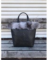 Черна дамска ежедневна чанта Shea