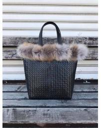 Черна дамска ежедневна чанта Rosana в online магазин Fashionzona