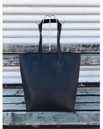 Черна дамска ежедневна чанта Nasya