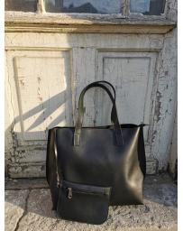 Черна дамска ежедневна чанта Ardath