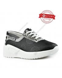 Черни дамски ежедневни обувки Undine