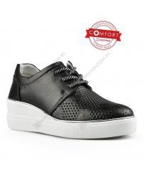 Черни дамски ежедневни обувки Melora