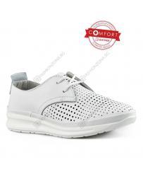 Бели дамски ежедневни обувки Shenandoah
