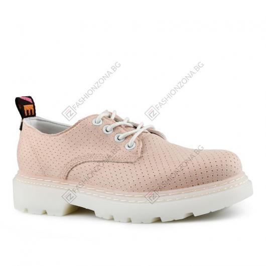 Розови дамски ежедневни обувки Pauahi