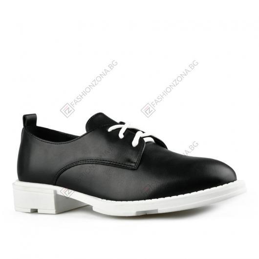 Черни дамски ежедневни обувки Viona