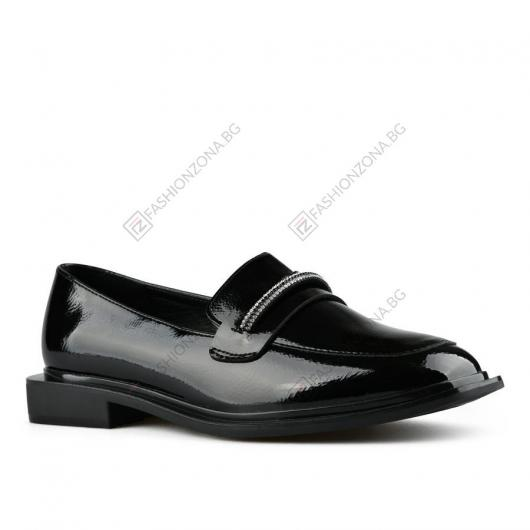 Черни дамски ежедневни обувки Signy