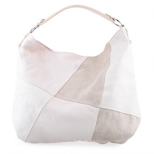 Бежова дамска ежедневна чанта Amity