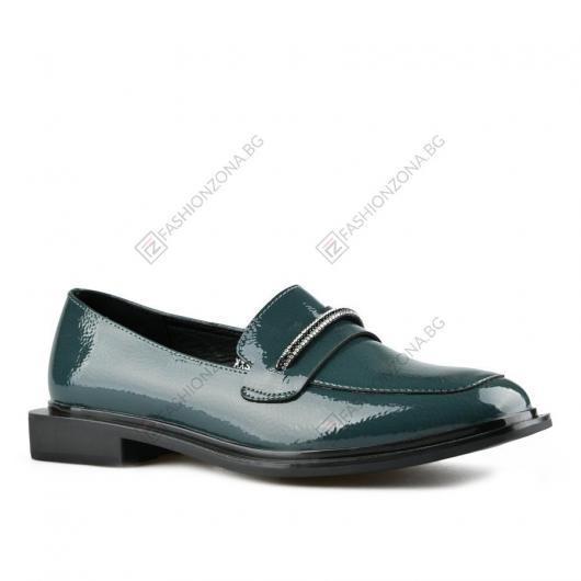 Зелени дамски ежедневни обувки Helga