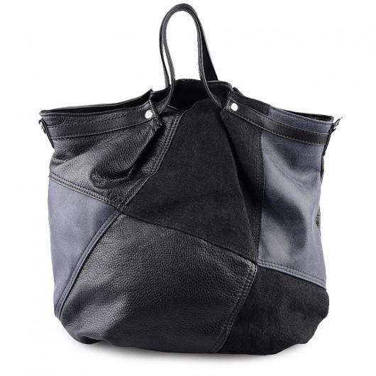 Черна дамска ежедневна чанта Giuseppina