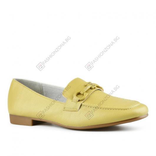 Зелени дамски ежедневни обувки Romona
