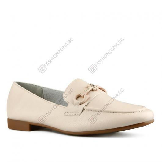 Бежови дамски ежедневни обувки Amitola
