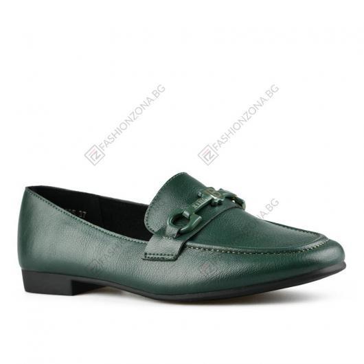 Зелени дамски ежедневни обувки Aranka