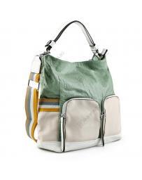 Зелена дамска ежедневна чанта Kalama