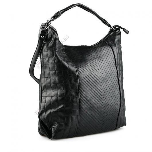 Черна дамска ежедневна чанта Gyda