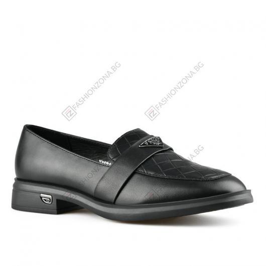 Черни дамски ежедневни обувки Gilah