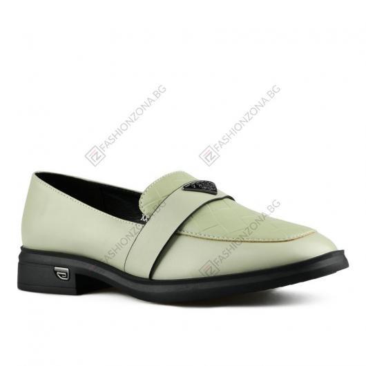 Зелени дамски ежедневни обувки Charlize