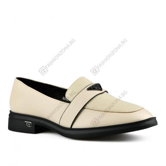 Бежови дамски ежедневни обувки Eimear