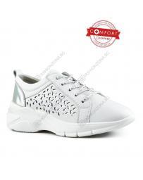 Бели дамски ежедневни обувки Agota
