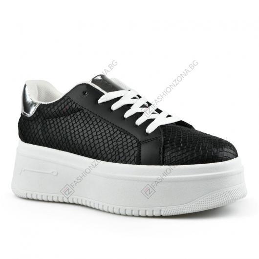 Черни дамски ежедневни обувки Twila