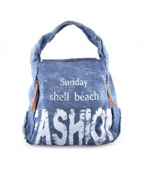 Синя дамска ежедневна чанта Rambha в online магазин Fashionzona