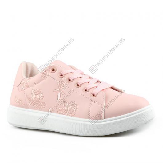 Розови дамски ежедневни обувки Deloise