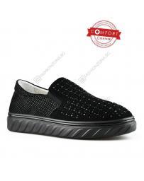 Черни дамски ежедневни обувки Taya