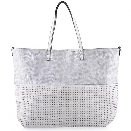 Бяла дамска ежедневна чанта Olisa