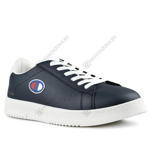 Сини мъжки ежедневни обувки Filiberto