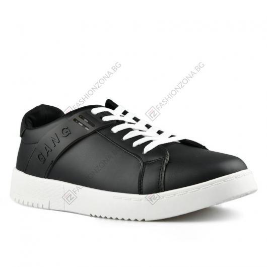 Черни мъжки ежедневни обувки Festo