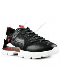 Черни мъжки ежедневни обувки Eligio