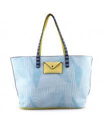 Синя дамска ежедневна чанта Mercer в online магазин Fashionzona