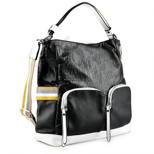 Черна дамска ежедневна чанта Shakira