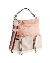 Розова дамска ежедневна чанта Hai